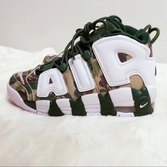 Bape Shoes | Bape Nike Air More Uptempo